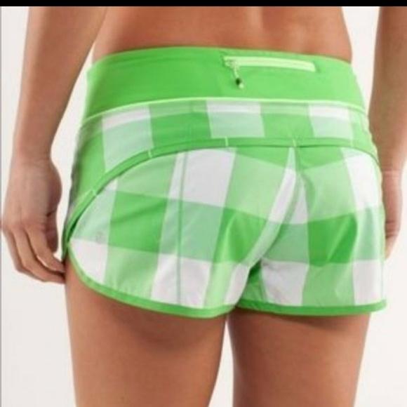 lululemon athletica Pants - Lululemon Rare speed up shorts